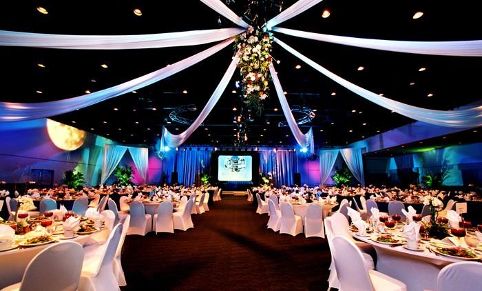 Corporate Event DJ Business Lighting